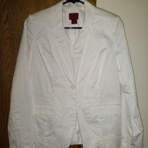 212 collection white blazer